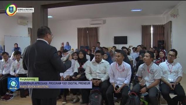 Embedded thumbnail for Babel Lahirkan Entrepreneur Pemula Melalui Program 1001 Digitalpreneur
